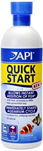 API Quick Start Water Conditioner for Aquariums, 16-Ounce