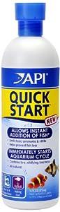 API Quick Start Water Conditioner for Aquarium, 16-Ounces, Bacteria