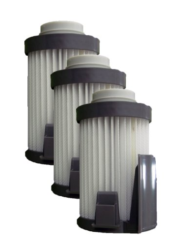 Eureka DCF-10/DCF-14 Vacuum Cleaner Upright Dust Cup Filter, Gray (Pack of 3) (Eureka Vacuum Filter Dcf 10 14 compare prices)