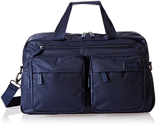 lipault-19-inch-weekend-bag-navy-one-size