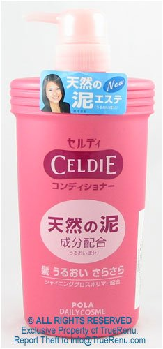 Buy Pola Celdie Hair Conditioner with Clay Pump Bottle - 600ml (CELDIE Hair Conditioners, Conditioners, Natural)