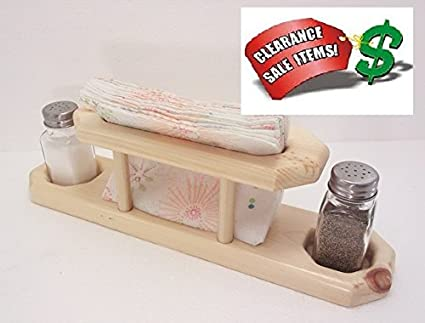 Wooden Napkin Holder With Salt And Pepper Caddy Plans DIY Free