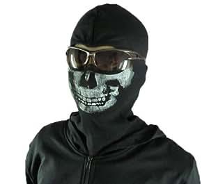 Derkang Call of Duty Modern Warfare 2 COD MW2 Ghost Wind Skull Mask Balaclava Full Face Mask