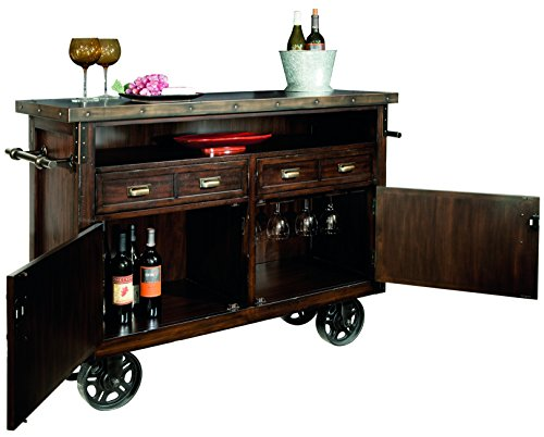 Howard Miller Barrow Wine and Bar Storage Console 1