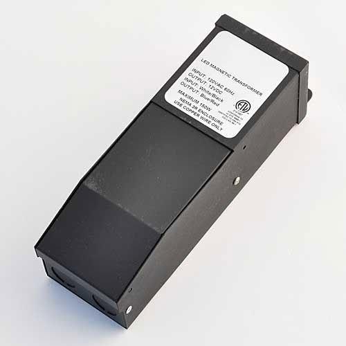 150 Watt 12VDC Dimmable Magnetic Transformer for LED Flexible Strip, By LEDwholesalers 3232-12V