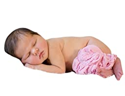 Melondipity Pink Kisses Baby Girl Leg Warmers - Adorable Newborn Ruffles