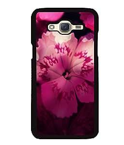 Fuson 2D Printed Flower Designer back case cover for Samsung Galaxy J5 J500F - D4496