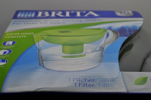 Brita Pacifica Water Filter 10 Cup Green Pitcher
