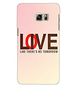 SAMSUNG GALAXY NOTE 5 EDGE LOVE Back Cover by PRINTSWAG
