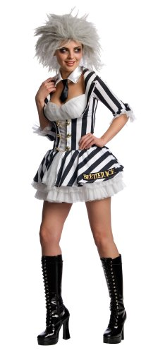 Secret Wishes Women's Beetlejuice Costume
