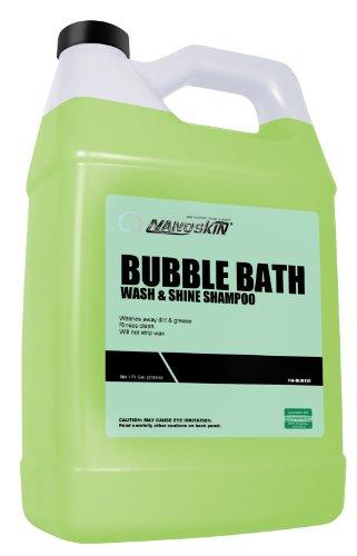 Nanoskin (NA-BUB128) Bubble Bath Car Wash and Shine Shampoo - 1 Gallon (Blue Coral Car Wash And Wax compare prices)