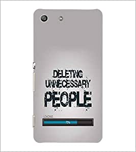 SONY XPERIA M5 QUOTE Designer Back Cover Case By PRINTSWAG