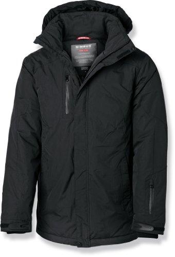 Nimbus Mens Sandford Windproof Waterproof Breathable Jacket Black 2XL