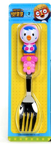 Pororo Kids Children Handle Fork (Patty)