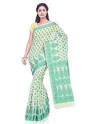 IndusDiva Super Net Benarasi Saree With Blouse Piece