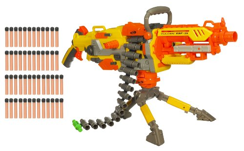 N-Strike Vulcan Nerf Machine Gun With Bonus Darts