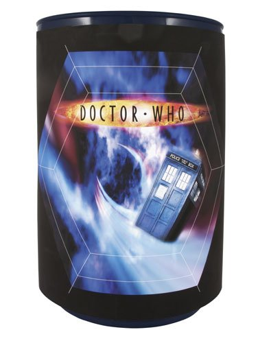 Doctor Who Talking Reversible Bin / Trash Can (Doctor Who Trash Can compare prices)