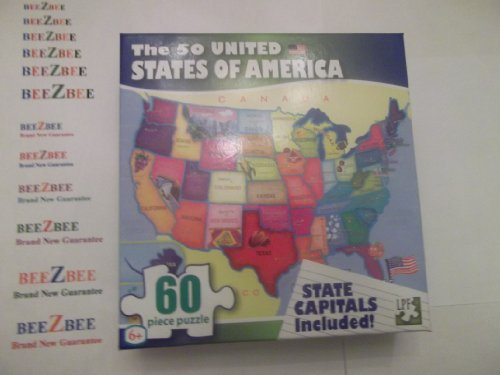 The 50 United States of America Map Puzzle - 1