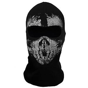 Yiding Call of Duty 10 COD Ghost Balaclava Logan Skull Face Mask Hood Biker #9