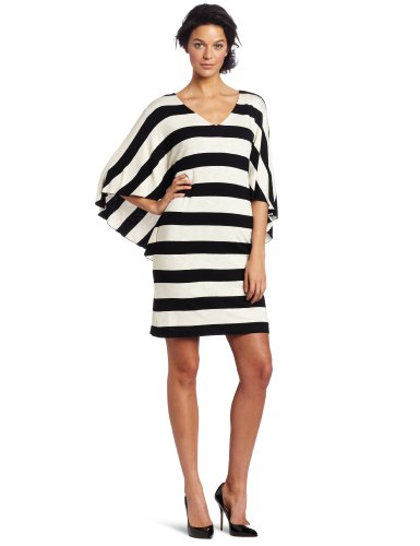 Suzi Chin Women's Flutter Sleeve Dress