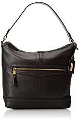 Tignanello Pretty Pockets Zip Hobo Shoulder Bag