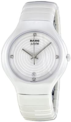 Rado Women's R27695712 True Jubile Analog Display Swiss Quartz White Watch