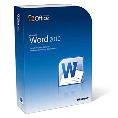 Microsoft Word 2010 (PC DVD)