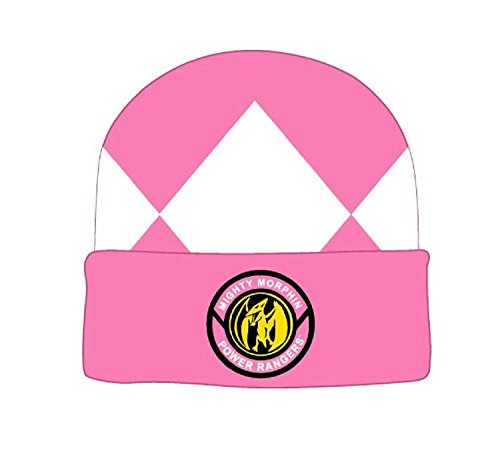 Mighty Morphin Power Rangers Pink Ranger Beanie Hat (Pink Ranger Plush compare prices)