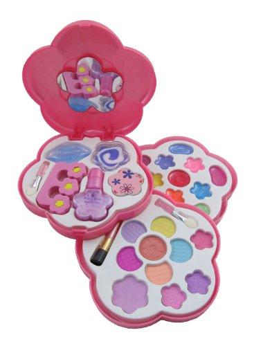 Petite Girls Play Cosmetics Set - Fashion Makeup Kit for Kid