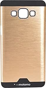 Rapid Zone Metal Finish Back Cover For Samsung Galaxy J2 - Golden