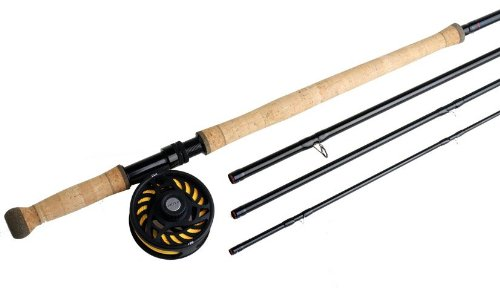 Greys GS2 #8 Double Hand Fly Fishing Rod (4-Piece), 13-Feet