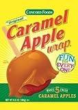 Concord Caramel Apple Wrap 6.5oz Package (Makes 5 Fresh Caramel Apples)