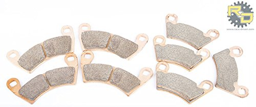 2013 2014 Polaris Razor RZR XP 900 Front & Rear Brake Pads Severe Duty (2014 Razor 900 Xp compare prices)
