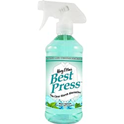 Mary Ellen Products 600BP-80 Best Press Starch Alternative, 16-Ounce, Mint Splash