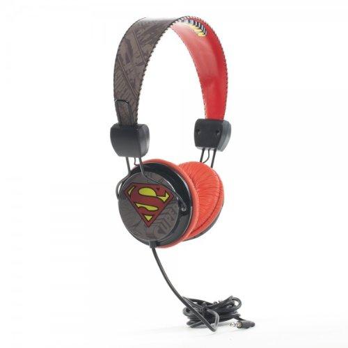 Superman Licensed 40Mm Dj Style Headphones