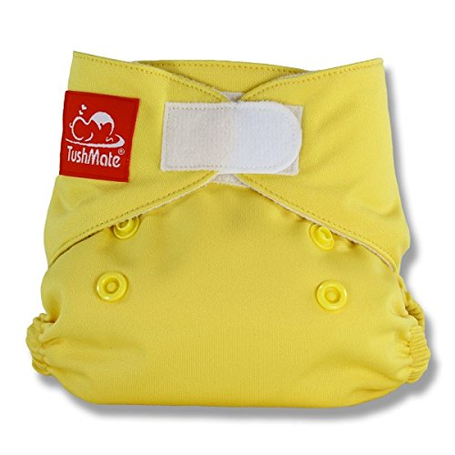 TushMate Newborn Diaper (Yellow)