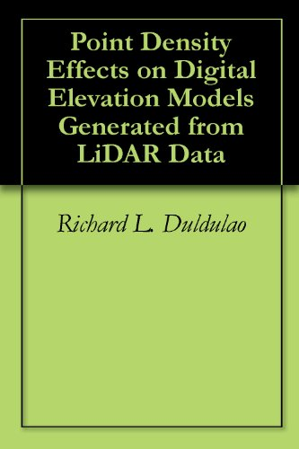 Point Density Effects on Digital Elevation Models Generated from LiDAR Data