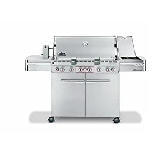rotisserie bbq smokers weber 2780301 summit s 670 propane. Black Bedroom Furniture Sets. Home Design Ideas
