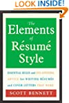 The Elements of Resume Style: Essenti...