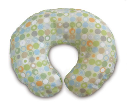 Boppy Pillow with Slipcover, Lots O Dots Image
