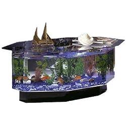Midwest Tropical Aqua Coffee Table 28-Gallon Aquarium