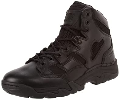 5.11 Taclite 6 Inches Side Zip Boot,Black,4 US/Womens 5.5 M US