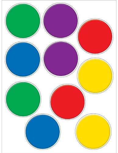 Teacher Created Resources Colorful Circles Accents Packs (4110) - 1