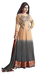 The Magical Thread Women's Georgette Unstitched Dress Material (MR-DN090_Multicolor_Free Size)