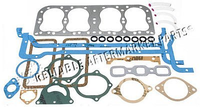 8N6008M New Ford Tractor 2N 8N 9N Engine Overhaul Gasket Set w/ Metal Head Gskt (New Holland Tractor Engine Parts compare prices)