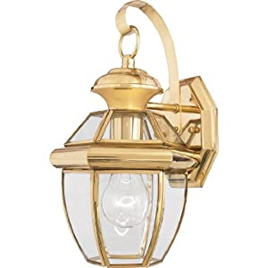 Amazon.com: Quoizel NY8315B Newbury Light Outdoor Wall Lantern