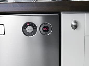 """D5434XLS 24"""" Semi-Integrated Built-In Dishwasher With 14 Place Settings Capacity 6 Wash Cycles 48 dBA Noise Level & In Stainless"""