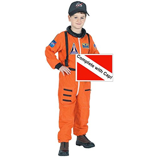 Child's Space Suit Costume Large 12-14