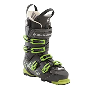 Black Diamond Factor 130 Ski Boots - Men's Black / Envy Green 24.5