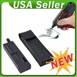 Engiveaway®V2 Diamond Moissanite Gemstone Jewelry Tester Selector Tool LED